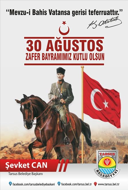 Tarsus Belediyesi-30 Ağustos