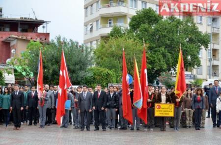 10 Kasım Atatürk Anma Töreni