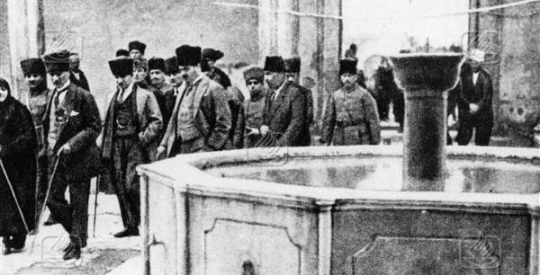 Atatürk Tarsus Ulu Cami'de