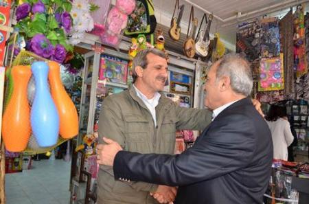 Tarsus CHP'den Esnaf Gezisi