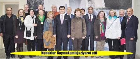 4 ülkeden 12 öğretmen Tarsus'ta