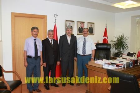 Tekin Çelik, Ankara'da temaslarda bulundu