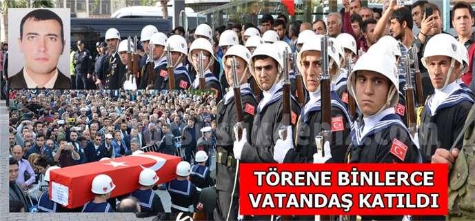 Tarsuslu Şehit Sabri Acem cenaze töreni (Foto Galeri)