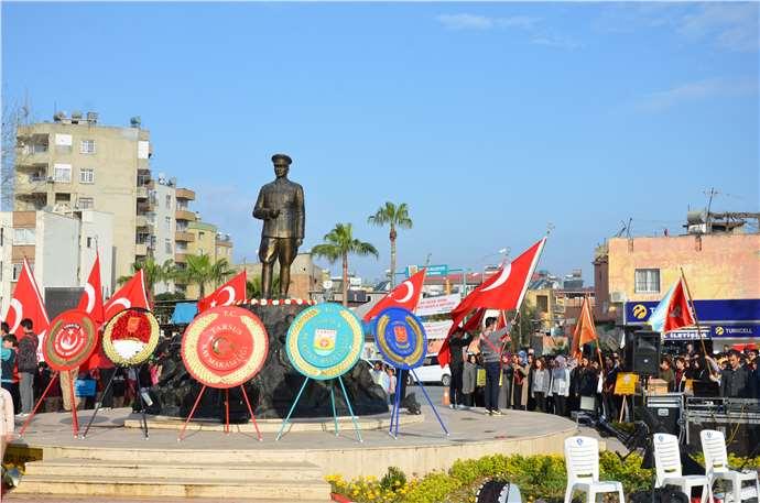 Atatürk'ün Tarsus'a gelişinin 94. Yıldönümü kutlandı