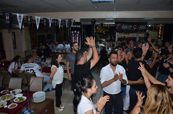 Beşiktaş Tarsus Çarşı Grubu'ndan Şampiyonluk Yemeği