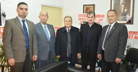 """Tarsus Akdeniz Gazetesi'ne """"25. Yıl"""" Ziyaretleri-1"""