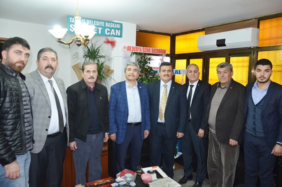 """Tarsus Akdeniz Gazetesi'ne """"25. Yıl"""" Ziyaretleri-2"""