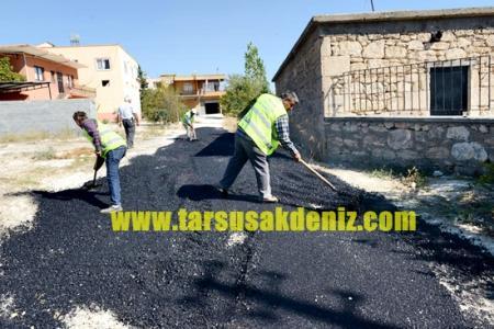Mersin Büyükşehir-65 köy asfaltlama