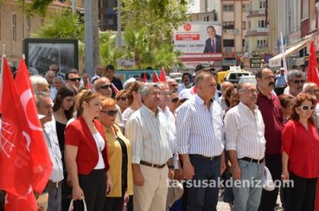 Tarsus CHP-19 Mayıs yürüyüşü-2015