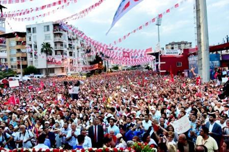 CHP-Kılıçdaroğlu Mersin mitingi-2015