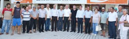 CHP BELDE ZİYARETİ