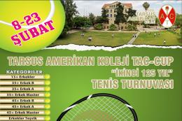 """Tac-Cup """"İkinci 125 Yıl"""" Tenis Turnuvası Başlıyor"""