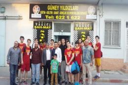 Galatasaray Yıldız Erkek Takımı Tarsus'ta
