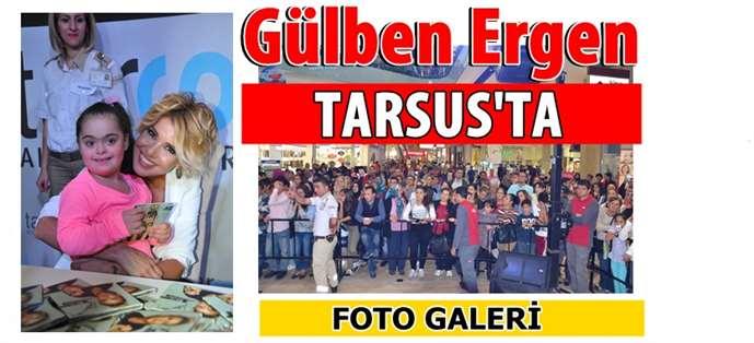 Gülben Ergen, Tarsus'ta hayranlarıyla buluştu
