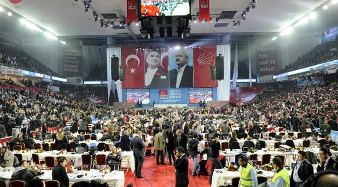 CHP'nin 'Demokrasi, Değişim ve Kardeşlik' Kurultayı başladı