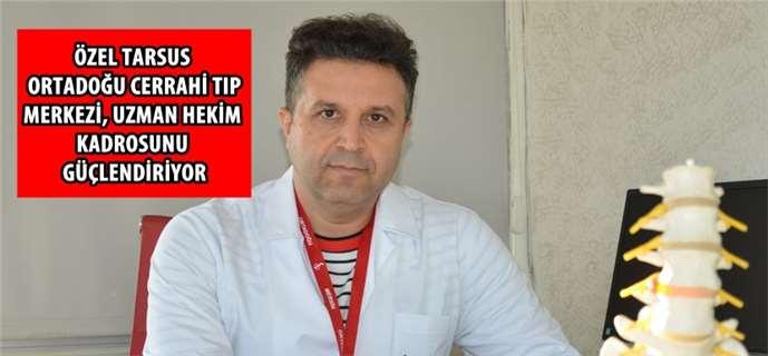 Fizik Tedavi Uzmanı Dr. Cengiz Eser, Tarsus Ortadoğu'da