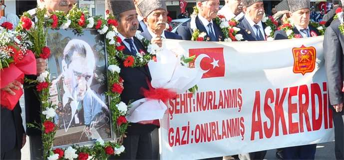 Atatürk'ün Tarsus'a gelişinin 93'ncü yıldönümü kutlandı