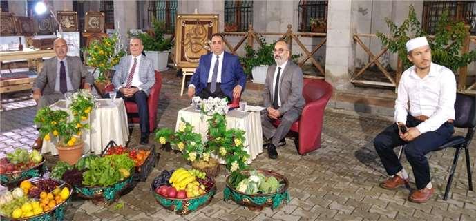 """Bengü Türk  """"Memlekette Ramazan"""" Adlı Programı Tarsus'ta Yayın Yaptı"""