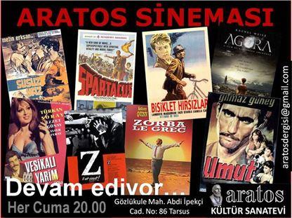Aratos Kültür Sanatevi Yazlık Sinemada 240 Film Gösterildi
