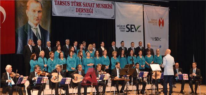 Tarsus Türk Sanat Musıkisi Derneği'nden Muhteşem Konser