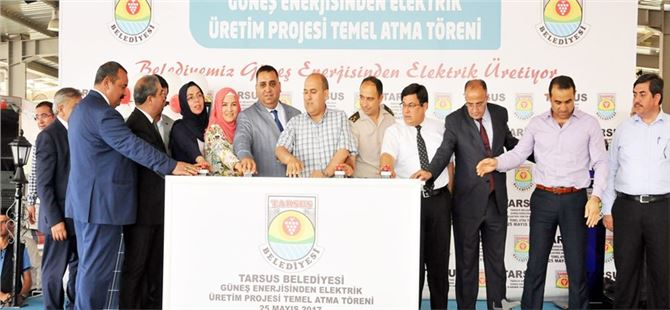 Güneş Enerjisi Santrali Projesine Yeni Mahalle'de Başlandı