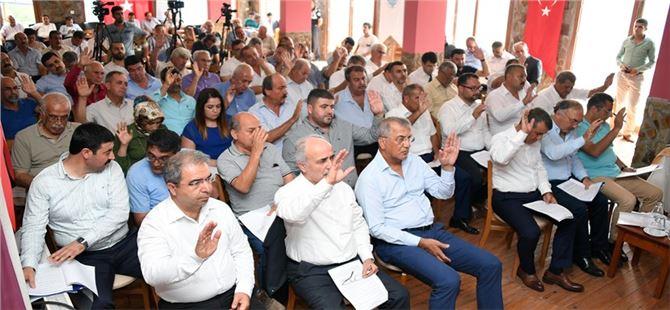 Büyükşehir Belediye Meclisi Çamlıyayla'da Gerçekleşti