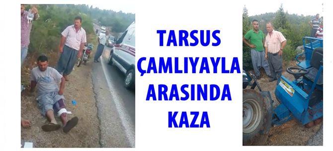 Tarsus-Çamlıyayla arasında kaza: 3 yaralı