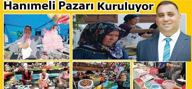 """Tarsus'ta """"Hanımeli Pazarı"""" kurulacak"""