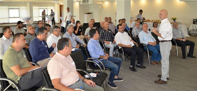 TSO'DA 'Tarsus Sektörel Ekonomik Vizyon Çalıştayı' Düzenlendi