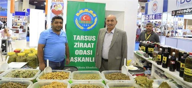Tarsus Ziraat Odası 'Antalya Yöresel Ürünler Fuarı'nda