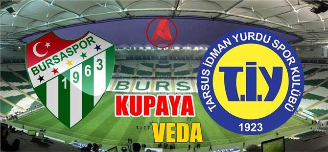 Tarsus, Bursa'da kupaya veda etti: 4-0