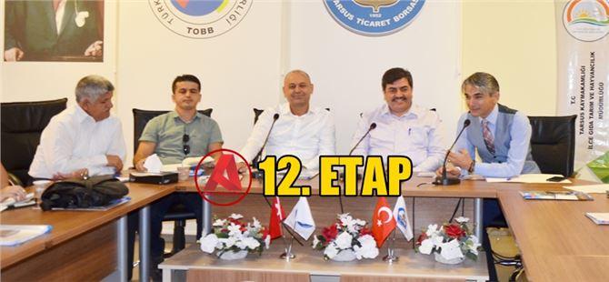 Tarsus'ta 12. Etap kırsal kalkınma destekleri anlatıldı