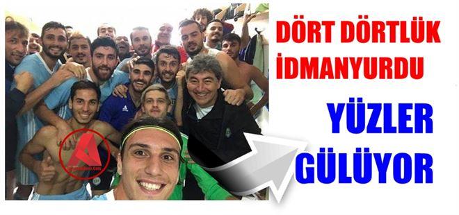 Tarsus İdmanyurdu, Arsinspor'da devirdi: 2-0