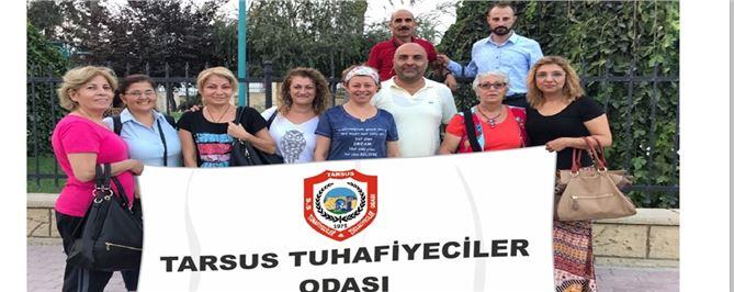Tarsus Tuhafiyeciler Odası Üyeleri Fuara Katıldı