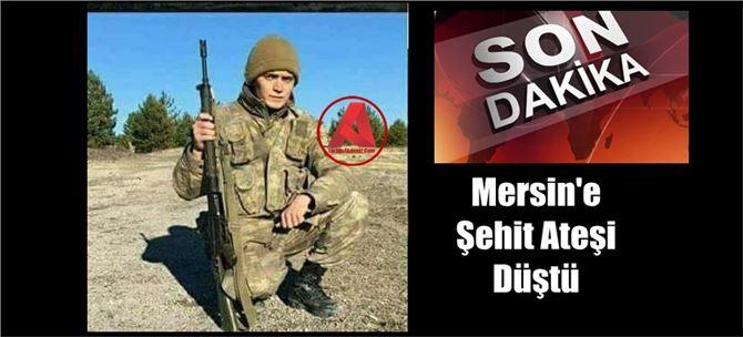 Mersinli Uzman Onbaşı Mehmet Uzun Şehit düştü