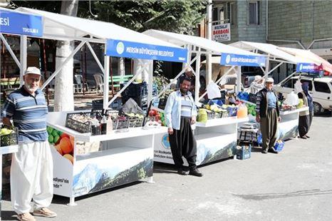 Mersin'de Üreticilerin Ürünleri, Büyükşehir'in Modern Satış Tezgâhlarında