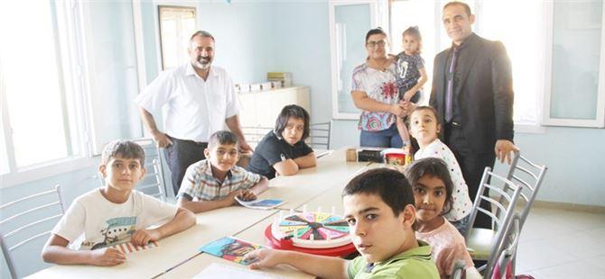 MEM Müdürü Kalaycı, Sevgi Özel Eğitim Merkezi'nde
