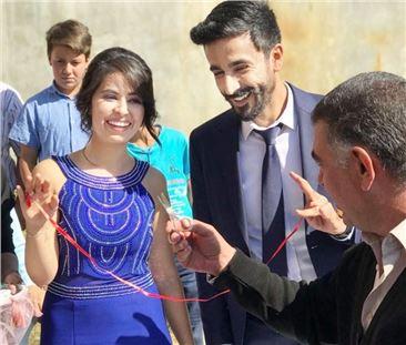 Merve ile Hasan evliliğe ilk adımı attı
