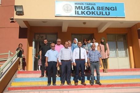 İlçe Milli Eğitim Müdürü Mehmet Kalaycı Musa Bengi İlkokulu'nu ziyaret etti