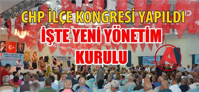 CHP Tarsus İlçe Yeni Yönetim Kurulu Belirlendi