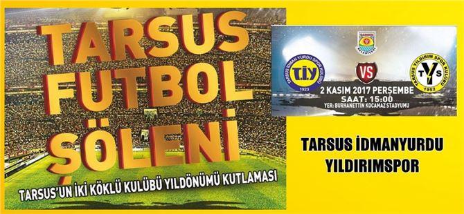 Tarsus İdmanyurdu ve Yıldırımspor'dan ortak kutlama programı