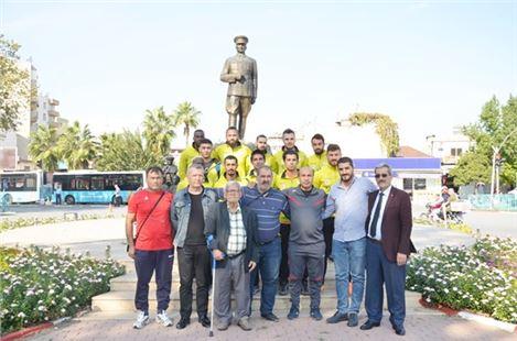 Yıldırımspor'dan Anıta 65. Yıl Çelengi