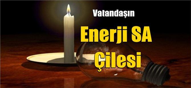 Mehmet Can Bulut, elektrik kesintilerini kaleme aldı