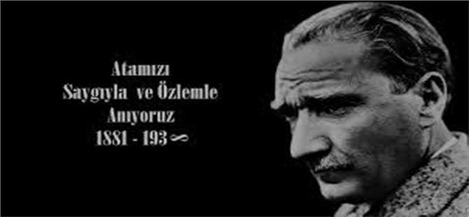 """Başkan Bodur: """"Ata'mızı Fatihalarla ve hayranlıkla yâd ediyoruz"""""""