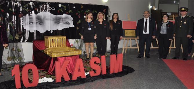 Atatürk ebediyete intikalinin 79.'ncu yıldönümünde anıldı