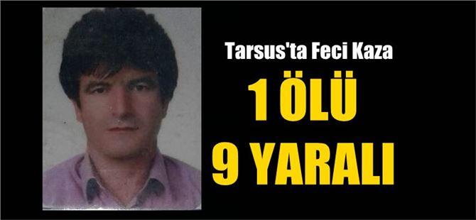 Kullandığı Otobüsle TIR'a Çarptı Öldü, 9'da Yaralı