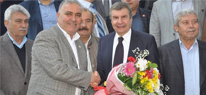 İstemihan Talay Tarsus'ta Oda ve Kooperatif Başkanlarıyla Buluştu