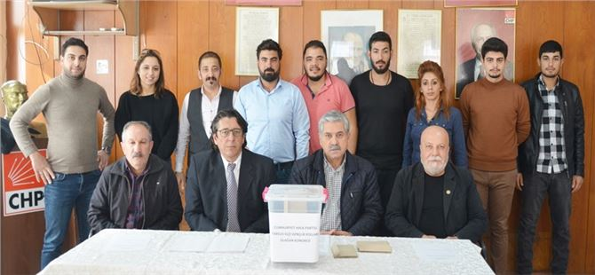 CHP Tarsus İlçe Gençlik Kolları Kongresi Yapıldı