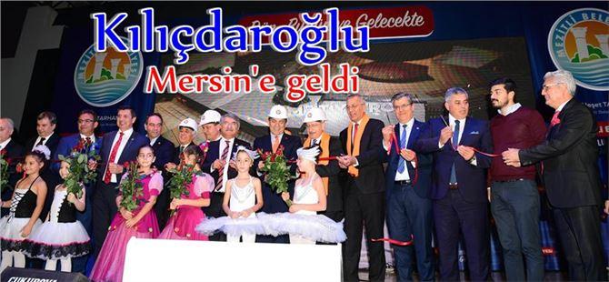 CHP Lideri Kılıçdaroğlu Mersin'e Geldi