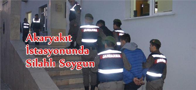 Mersin'de Akaryakıt İstasyonunda Silahlı Soygun